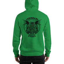 "Load image into Gallery viewer, ""Legendary Cycles Reaper"" Logo Hooded Sweatshirt (Unisex Hoodie)"
