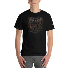 "Load image into Gallery viewer, ""Built Not Bought Bobber"" Mens Short Sleeve T-Shirt"