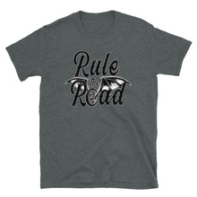 Load image into Gallery viewer, Rule The Road Winged Wheel Tee