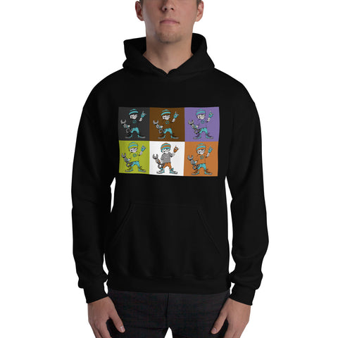 """The Hooligan"" Mens Hooded Sweatshirt"