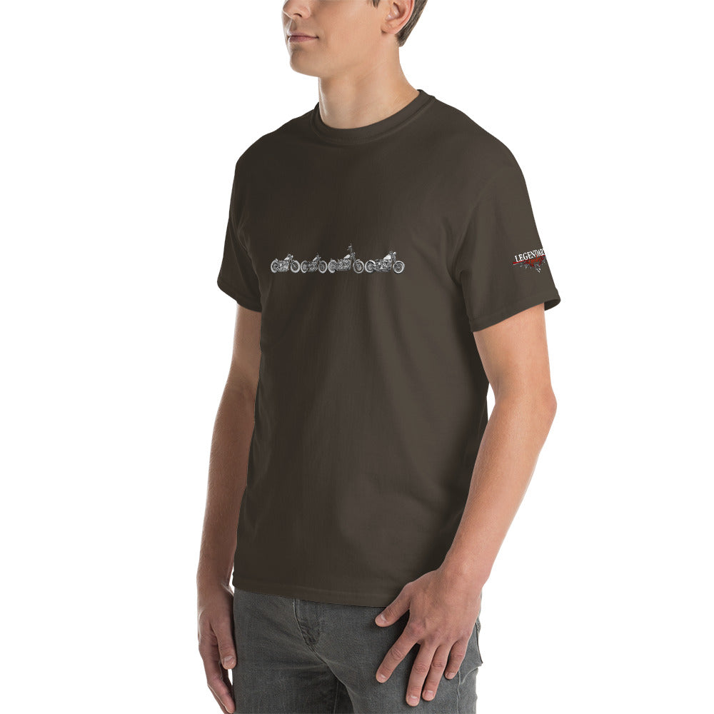 """Bobber Row"" Mens Short Sleeve T-Shirt"