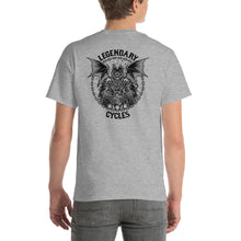 "Load image into Gallery viewer, ""Legendary Cycles Reaper"" Logo Mens Short Sleeve T-Shirt"
