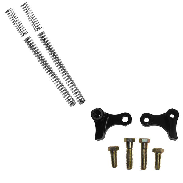 Drop In Fork & Rear Shock Lowering Kit PACKAGE (Sportster XL 2004 - 2015)