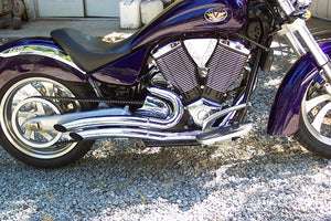 Rippers Exhaust for Victory Vegas, 8-Ball, Kingpin, Highball (Fits 2008-Up) Must Specify Year