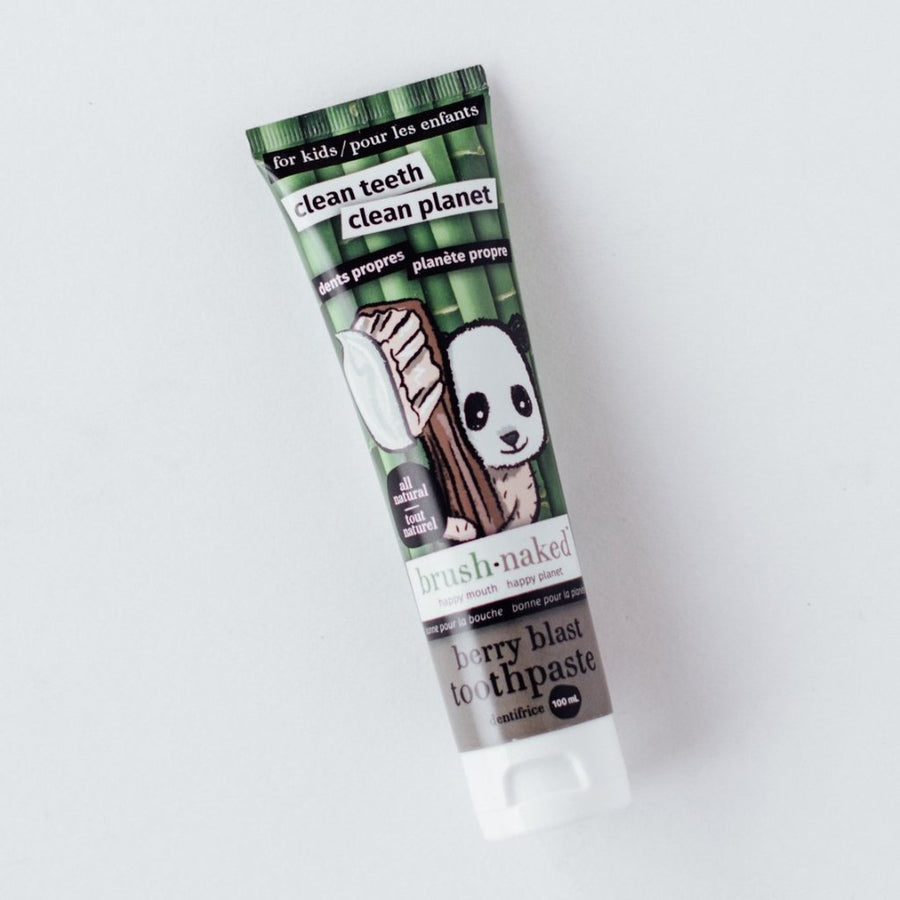All Natural Berry Toothpaste