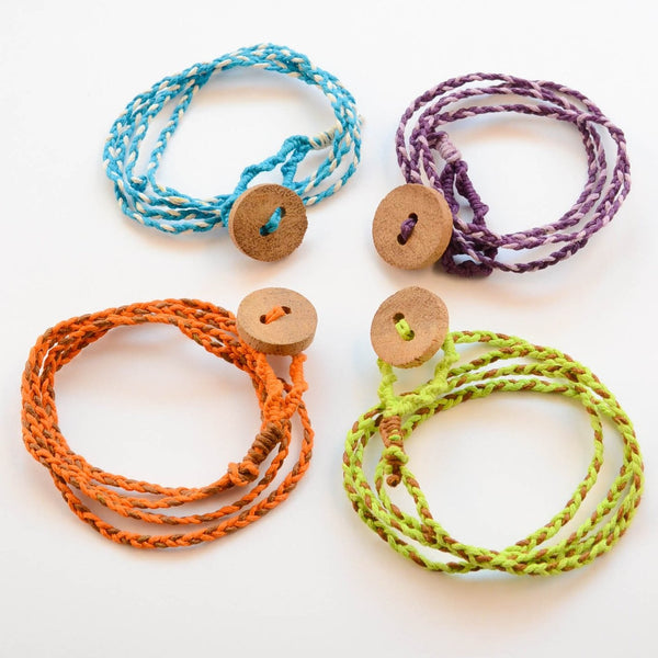 Friendship Bracelet with Button