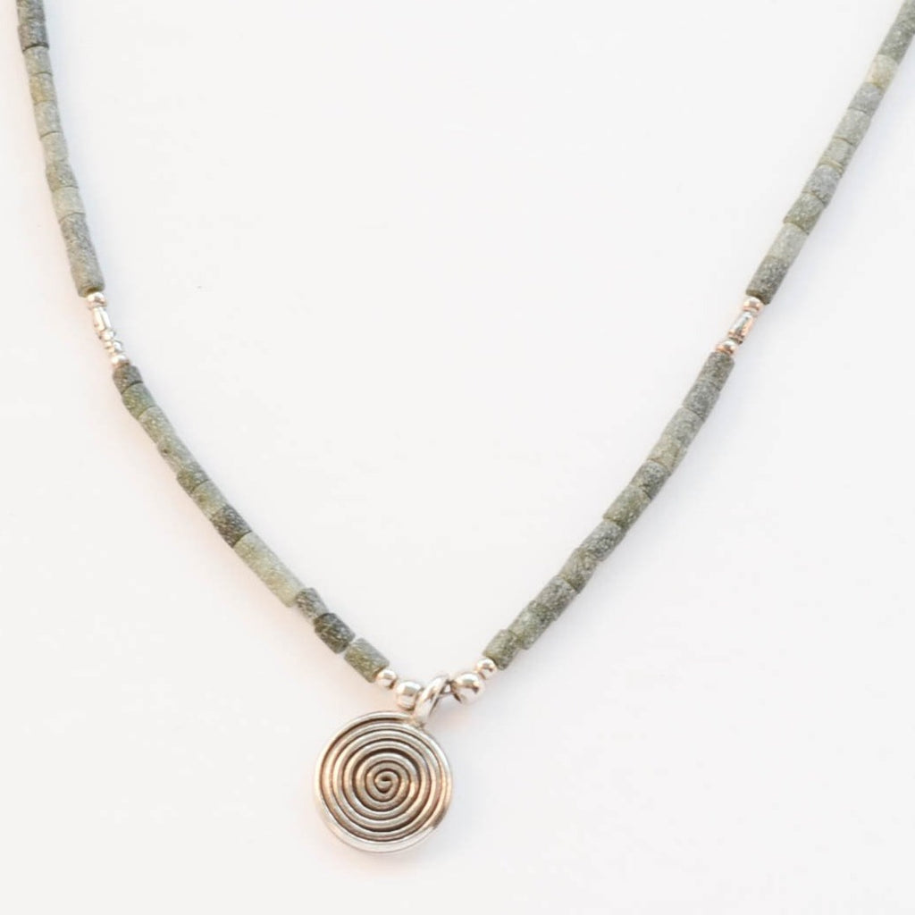 Jade Swirl Necklace