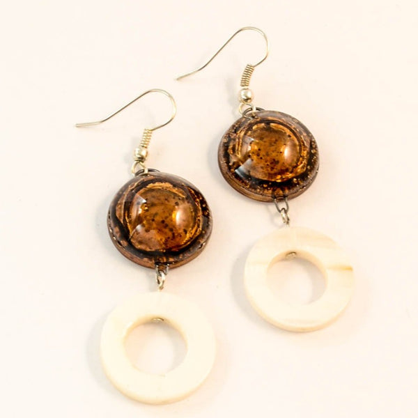 Circles - Glass Earrings