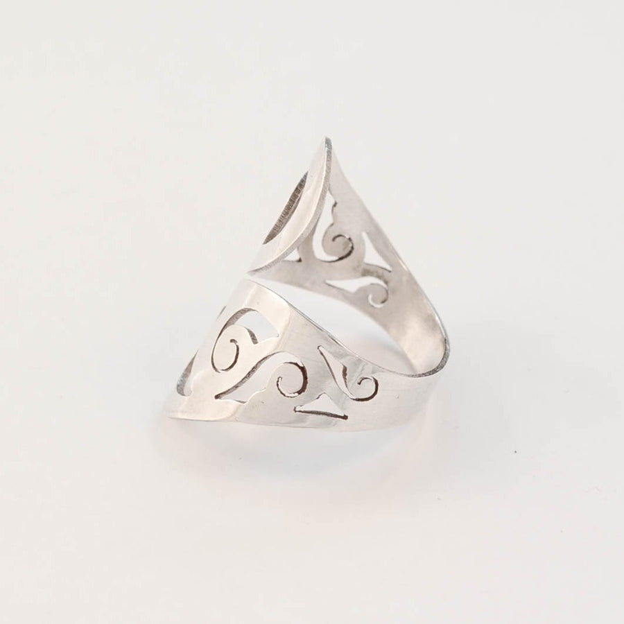 Doodle - Sterling Silver Wrap Ring