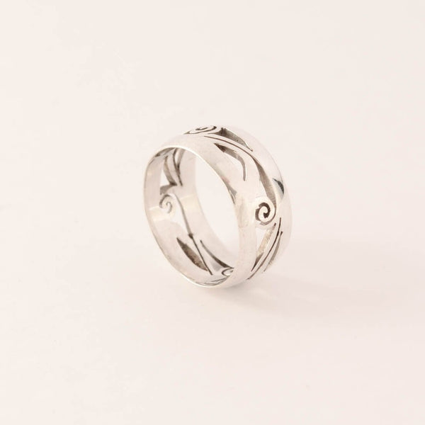 Swirl - Sterling Silver Ring