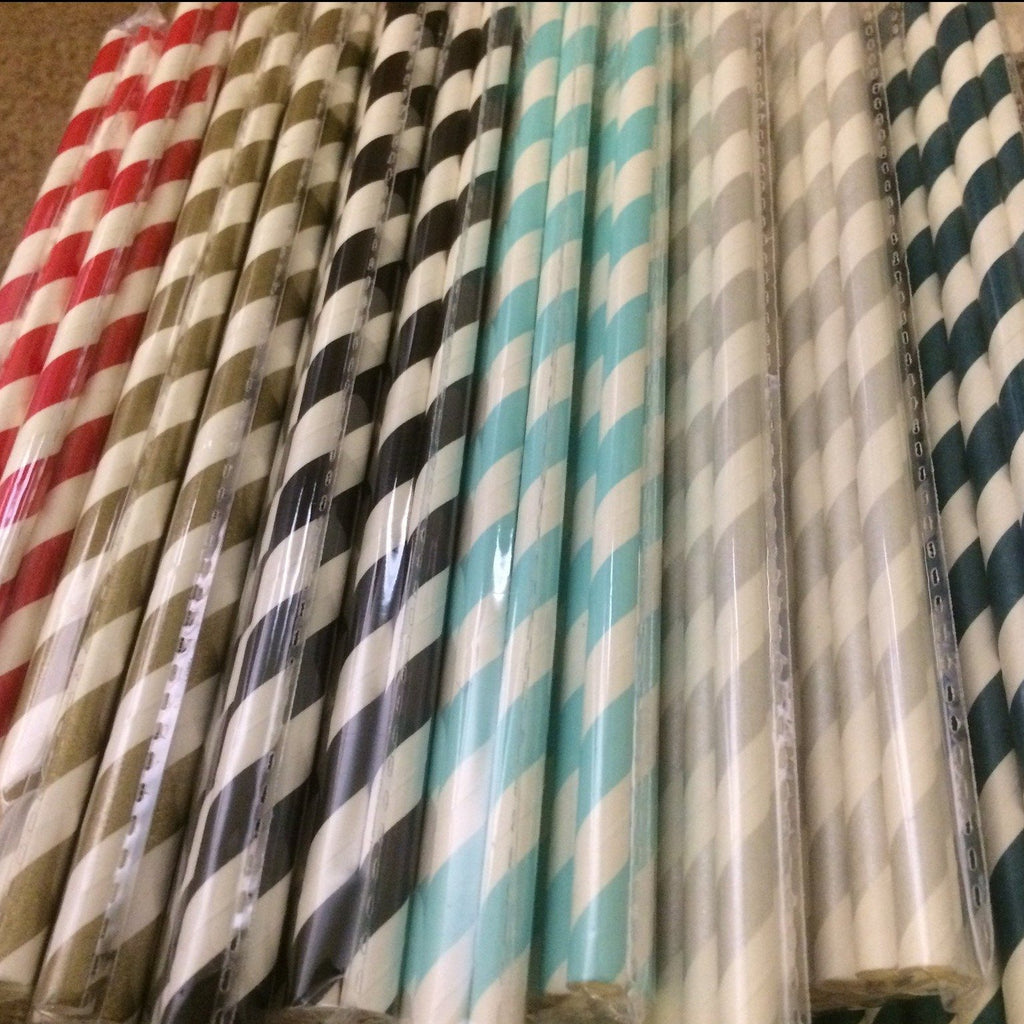 Paper Straws - EcoFriendly Entertaining