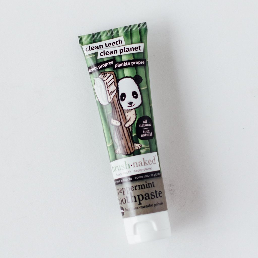 All Natural Peppermint Toothpaste