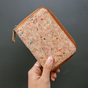 Speckled Cork Wallet