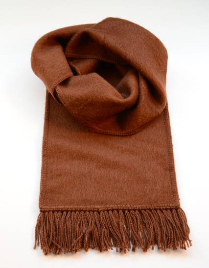 Brown Alpaca Scarf