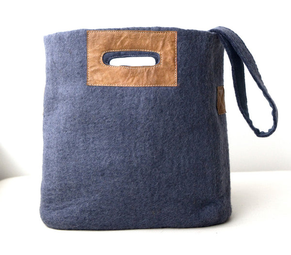 Felted Tote Bag
