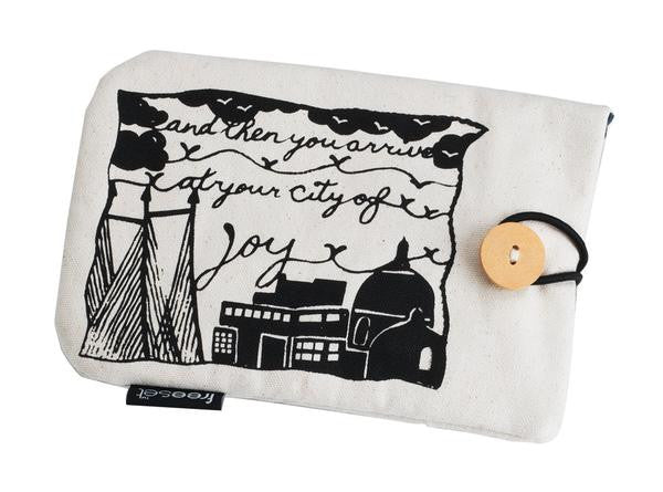 City of Joy e-Reader sleeve