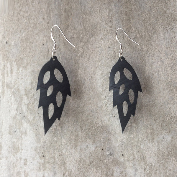 Recycled Tire Earrings