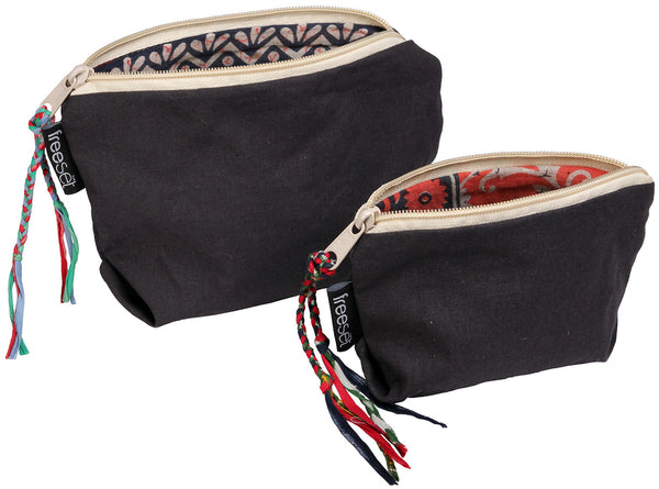 Sari Lined Pouch