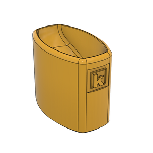 French's Mustard Bottle Holder (3D Model)