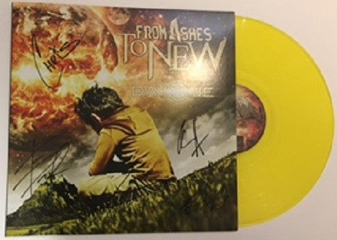Only 10 Left! Autographed Day One Vinyl - Limited Quantity