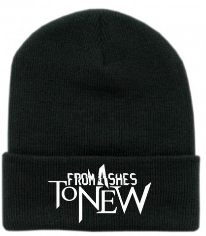 NEW From Ashes To New Knit Beanie w/ cuff