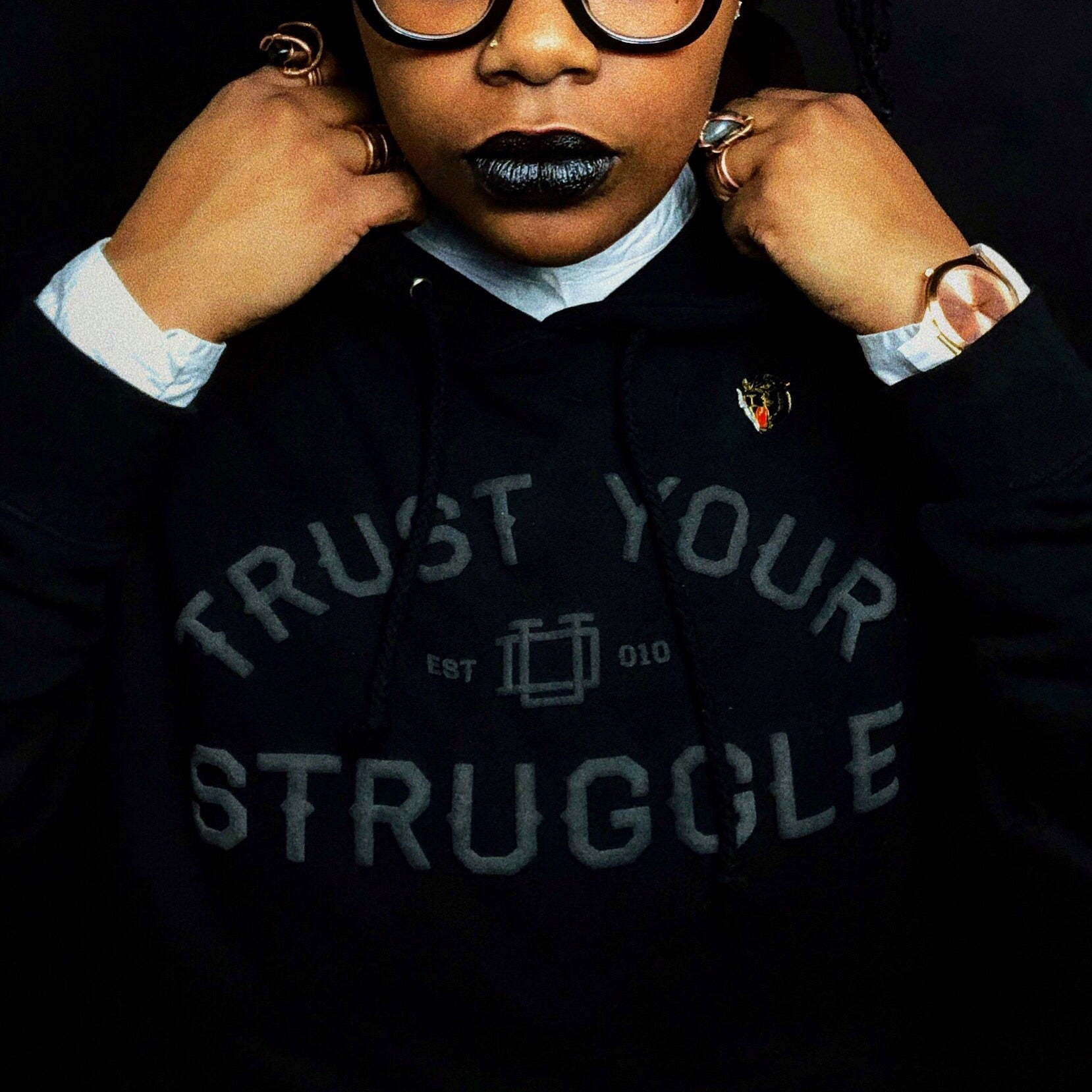Blackout Trust Your Struggle Hoodie