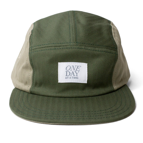 Herringbone 5-panel camper hat