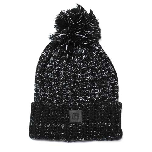 Slouchy Two-way Blackout Beanie
