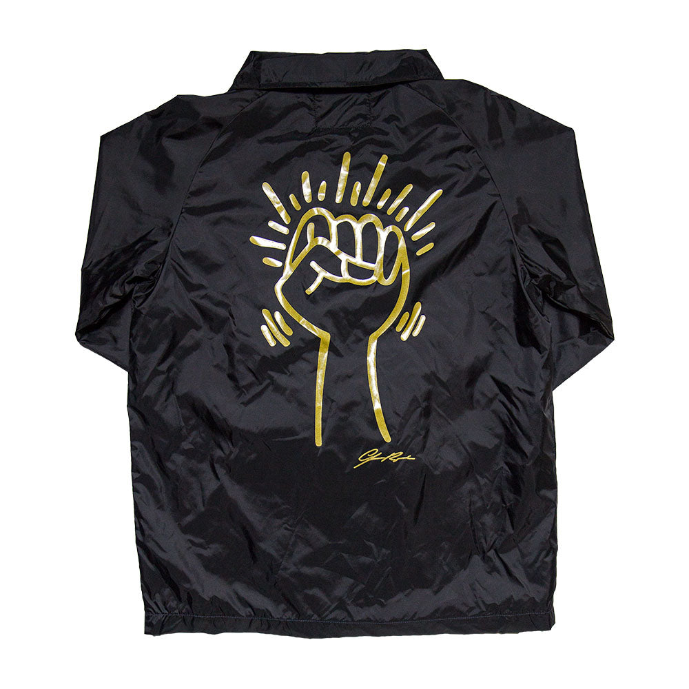 Black Liberation x Jessica Rycheal Windbreaker