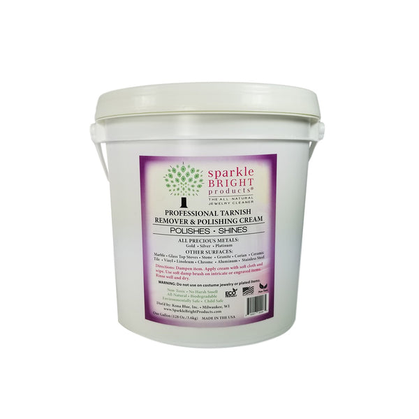 Sparkle Bright Tarnish Remover & Metal Polishing Cream – One-Gallon - Sparkle Bright Products