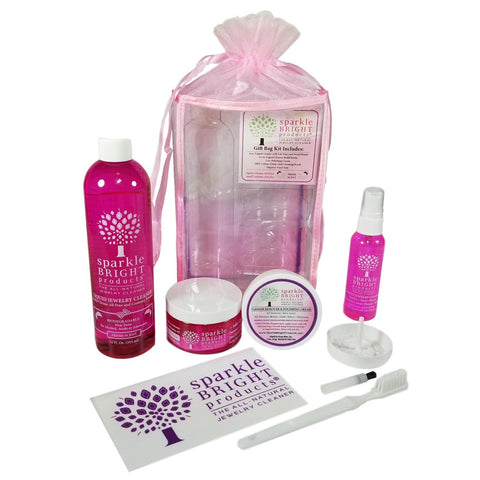 Sparkle Bright Jewelry Cleaner - All-In-One Kit - Sparkle Bright Products
