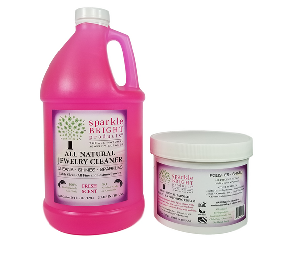 Sparkle Bright Jewelry Cleaner - Medium Project Kit - Sparkle Bright Products