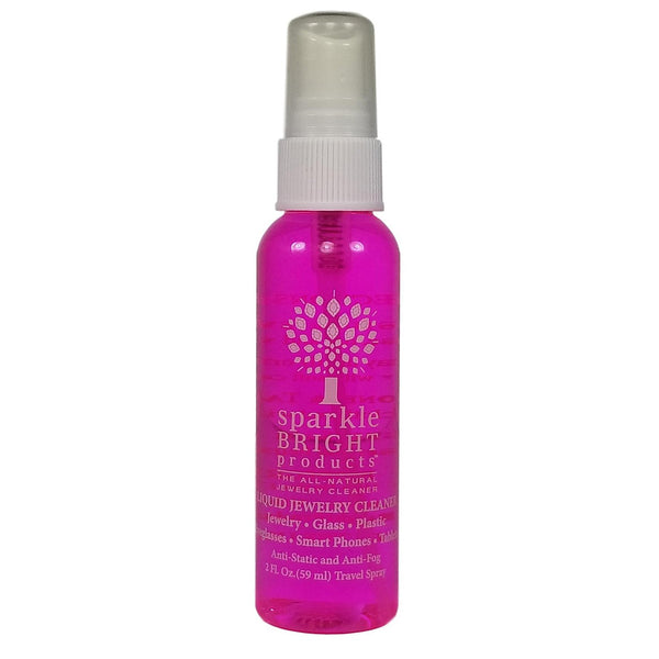 Sparkle Bright Jewelry Cleaner - 2Oz. Travel Spray - Sparkle Bright Products