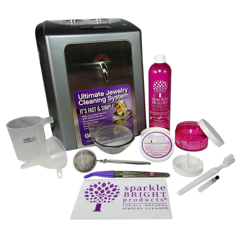 GemOro - Ultraspa - Combination Ultrasonic & Steamer Kit - Sparkle Bright Products