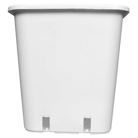 Botanicare Square White Pot, 8.5""