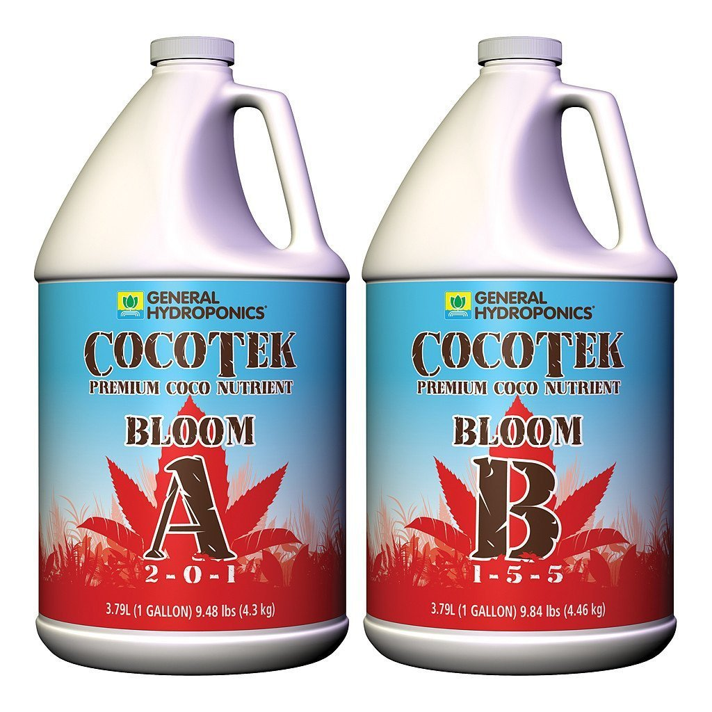 General Hydroponics CocoTek Bloom A & B Set, gal