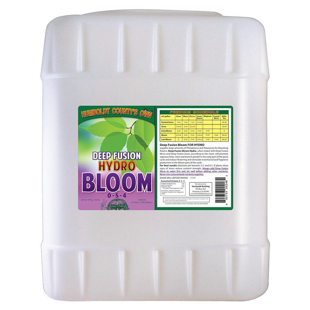 Humboldt County's Own Deep Fusion Bloom Hydro, 5 gal