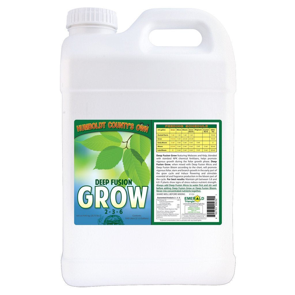 Humboldt County's Own Deep Fusion Grow, 2.5 gal