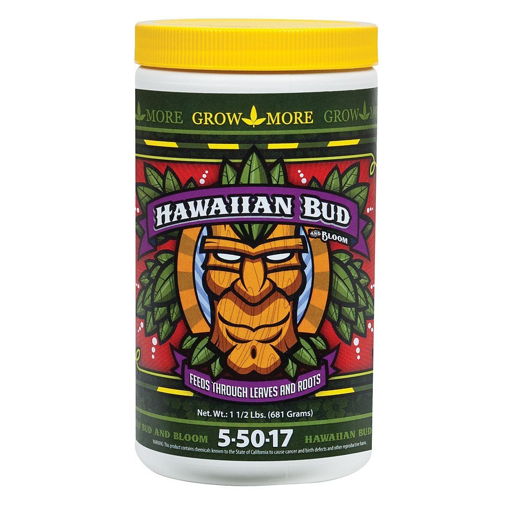 Grow More Hawaiian Bud, 1.5 lb
