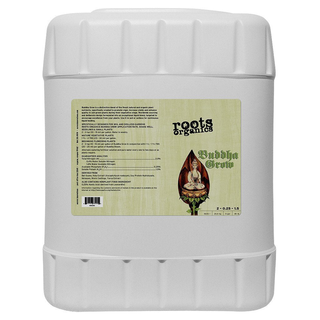 Roots Organics Buddha Grow, 5 gal