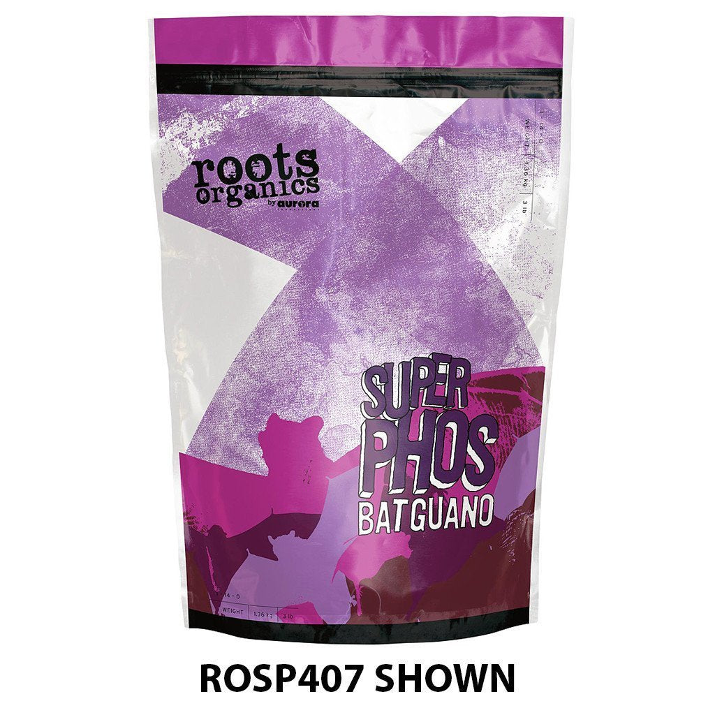 Roots Organics Super Phosphorus Bat Guano, 40 lb