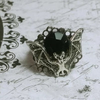 Filigree Bat Ring Style 1 Adjustable