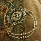 Harmony Bat Pentacle Necklace 4 color options