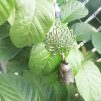 Lotus Flower Buddha Garden Bell Wind Chime