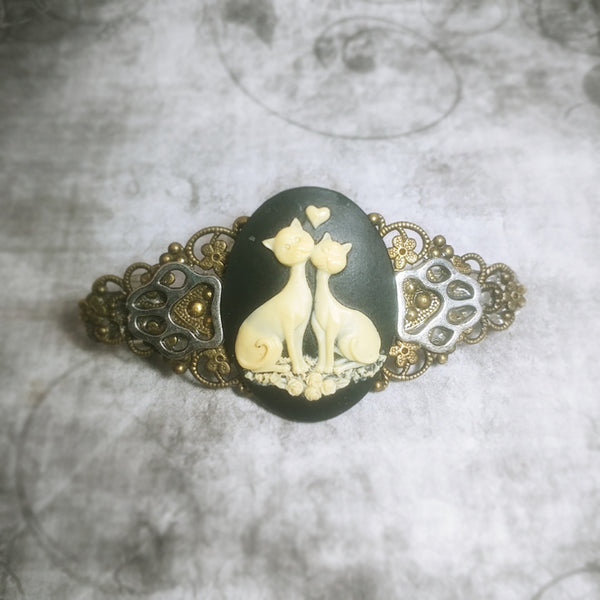 Pretty Kitty Duo Barrette