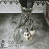 Stone Skull Bohemian Styled Earrings