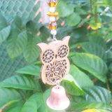 Little Owl Garden Bell Wind Chime