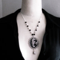 One OF A Kind Celtic Seahorse Necklace