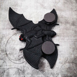 Crystal Eye Bat Magnet Set of 3
