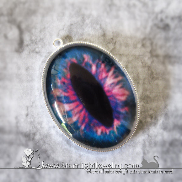 Dragons Eye Amulet Necklace Pendant 12 Color/Eye Choices